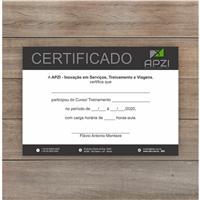Apzi Inovação em Serviços, Treinamento e Viagens Ltda., Logo e Identidade, Viagens & Lazer