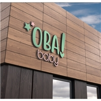 Oba! Baby - Móveis e Exovais , Logo e Identidade, Crianças & Infantil