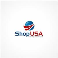 Shop USA, Logo e Identidade, Roupas, Jóias & acessórios