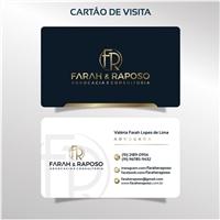 FaraheFroment, Logo e Identidade, Advocacia e Direito