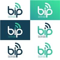 BIP Parking Solutions, Logo e Identidade, Tecnologia & Ciencias