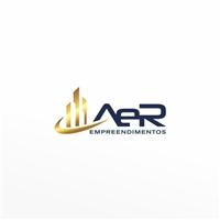A e R Empreendimentos , Logo e Identidade, Construção & Engenharia