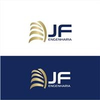 JF Engenharia, Logo e Identidade, Construção & Engenharia