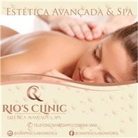 Rio's Clinic (Titulo) Estética Avançada & Spa (subtitulo), Web e Digital, Beleza