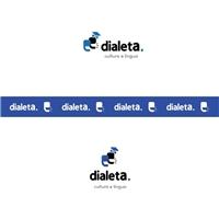 Dialeta (cultura e língua)  , Logo e Identidade, Educação & Cursos