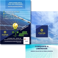 Itapoá Sistemas Solares, Peças Gráficas e Publicidade, Ambiental & Natureza