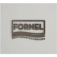 FORNEL O nome é inspiração em um restaurante da família de um dos sócios , na Suíça., Logo e Identidade, Alimentos & Bebidas