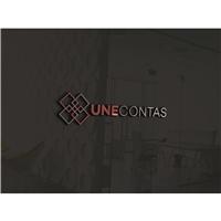 Une Contas; www.UneContas.com.br, Logo e Identidade, Computador & Internet
