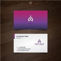 STAFF ROBOTS, Logo e Identidade, Consultoria de Negócios