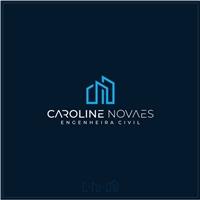 Caroline Novaes - Engenheira Civil, Logo e Identidade, Construção & Engenharia