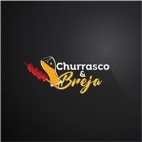 Churrasco e Breja, Logo e Identidade, Alimentos & Bebidas