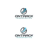 Ontrack Transportes, Logo e Identidade, Logística, Entrega & Armazenamento