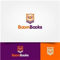 BoomBooks, Logo e Identidade, Educação & Cursos