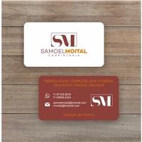SAMOEL MOITAL CARPINTARIA, Logo e Identidade, Construção & Engenharia