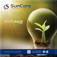 Suncore Energia Solar, Web e Digital, Metal & Energia
