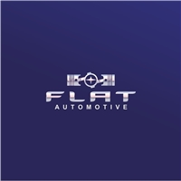 Flat Automotive, Logo e Identidade, Automotivo