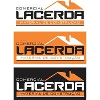 COMERCIAL LACERDA, Logo e Identidade, Construção & Engenharia