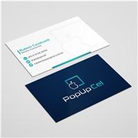 PopUp Cel, Logo e Identidade, Tecnologia & Ciencias
