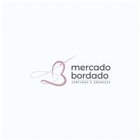 Mercado Bordado Cortinas e Enxovais, Logo e Identidade, Decoração & Mobília