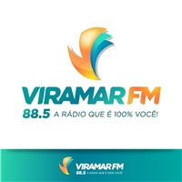 VIRAMAR FM 88,5 A RADIO QUE É 100% VOCÊ, Logo e Identidade, Outros