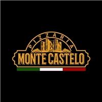 Pizzaria Monte Castelo, Logo e Identidade, Alimentos & Bebidas