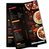 Lótus Restaurante e pizzaria , Peças Gráficas e Publicidade, Alimentos & Bebidas