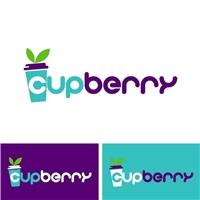 CupBerry, Logo e Identidade, Alimentos & Bebidas