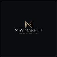 May Makeup, Logo e Identidade, Beleza