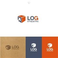 LogEtiquetas, Logo e Identidade, Logística, Entrega & Armazenamento