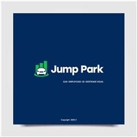 Jump Park, Logo e Identidade, Tecnologia & Ciencias
