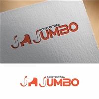 Construtora Jumbo , Logo e Identidade, Construção & Engenharia
