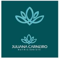 Nutricionista Juliana Carneiro, Logo e Identidade, Saúde & Nutrição