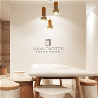 Livia Fortes Dermatofuncional , Logo e Identidade, Beleza