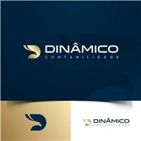DINÂMICO CONTABILIDADE ou DINÂMICO - Contabilidade e Consultoria, Logo e Identidade, Contabilidade & Finanças