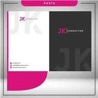 JK Consulting, Logo e Identidade, Consultoria de Negócios