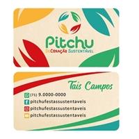 Pitchu, Logo e Identidade, Planejamento de Eventos