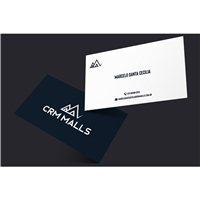 CRM Malls, Logo e Identidade, Imóveis