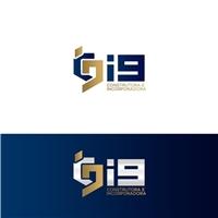i9 Construtora e Incorporadora, Logo e Identidade, Construção & Engenharia