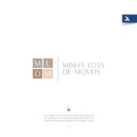 Minha Loja de Móveis, Logo e Identidade, Decoração & Mobília