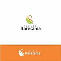 """Pousada Itaretama (este nome significa """"caminho das pedras"""" em tupi), Logo e Identidade, Viagens & Lazer"""