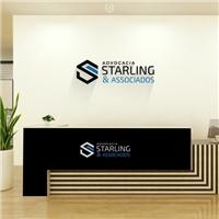 Advocacia Starling & Associados, Logo e Identidade, Advocacia e Direito