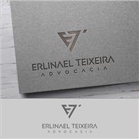 ERLINAEL TEIXEIRA - ADVOCACIA, Logo e Identidade, Advocacia e Direito