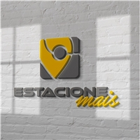Estacione +, Logo e Identidade, Automotivo