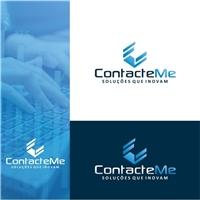ContacteMe - Soluções que Inovam  , Logo e Identidade, Tecnologia & Ciencias