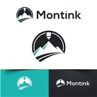 Montink, Logo e Identidade, Tecnologia & Ciencias