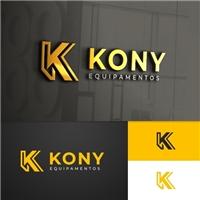 Kony Andaimes, nome fatasia. Gostaria de trocar para KonyEquipamentos, Logo e Identidade, Construção & Engenharia