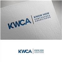 KWCA - Know How Contadores Associados, Logo e Identidade, Contabilidade & Finanças