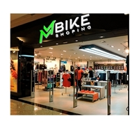 MM BIKE SHOPING, Logo e Identidade, Esportes