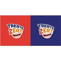 TREATS 2 EAT, Logo e Identidade, Alimentos & Bebidas