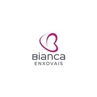 """Bianca Enxovais (optamos por utilizar """"Enxovais"""" como uma Tag Line), Logo e Identidade, Decoração & Mobília"""